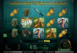 Creature from the Black Lagoon - Fantastic Video Slot by Net Entertainment