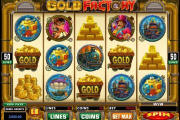 Gold Factory MCPcom Microgaming