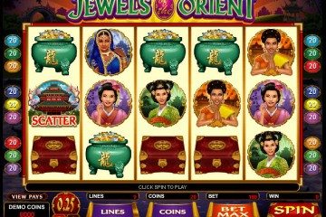 Jewels of the Orient MCPcom Microgaming