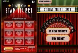 Triple Wins Star Ticket MCPcom NetEnt